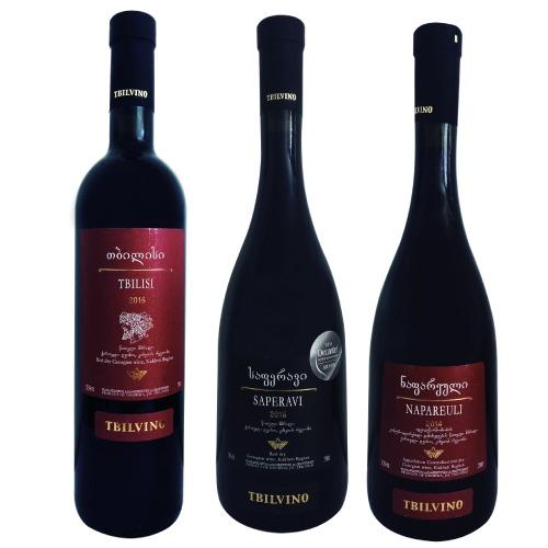 Kit de Vinhos Tintos - Queridinhos da Mundus - 3 garrafas.