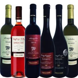Kit de vinhos FullWine Mundus - 6 garrafas