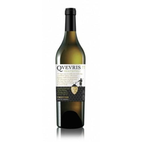 Vinho Branco Georgiano Qvevris Rkatsiteli (fermentação em ânfora de argila embaixo da terra - técnica milenar do Qvevris)- 750ml
